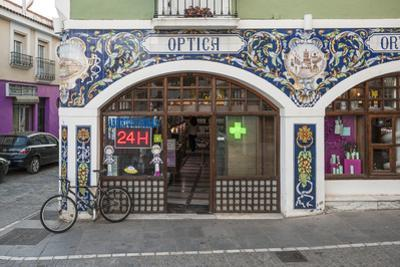 Tiled Pharmacy in Zafra, Badajoz, Extremadura, Spain, Europe by Michael Snell