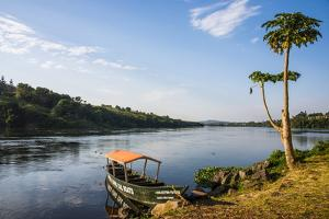 Source of the Nile in Jinja, Uganda, East Africa, Africa by Michael