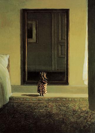 Bunny Dressing by Michael Sowa