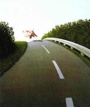 Highway Pig by Michael Sowa