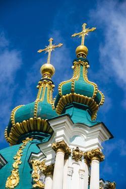 St. Andrews Church in Kiev (Kyiv), Ukraine, Europe by Michael