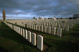 Tyne Cot British Military Cemetery by Michael St. Maur Sheil
