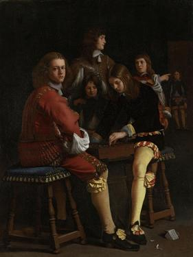 Draughts Players, Checkers by Michael Sweerts