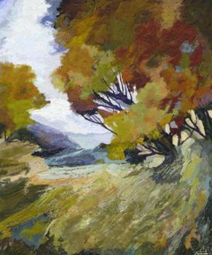 Autumn Bloom II by Michael Tienhaara