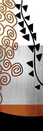 Ivy and Swirls after Klimt