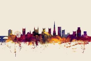 Bristol England Skyline by Michael Tompsett