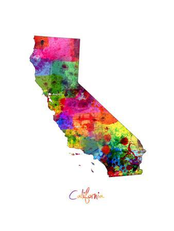 California Map by Michael Tompsett