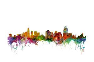 Cincinnati Ohio Skyline by Michael Tompsett