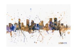 Denver Skyline by Michael Tompsett