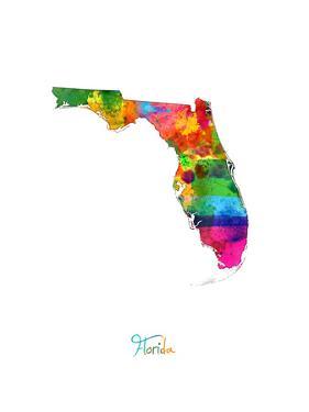 Florida Map by Michael Tompsett