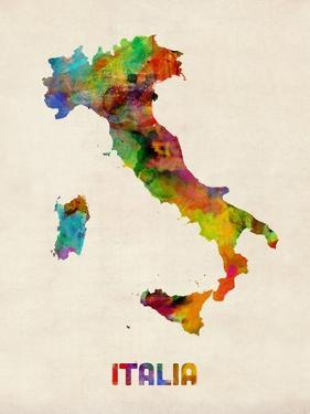 Michael tompsett framed art for sale at allposters italy watercolor map italia gumiabroncs Image collections