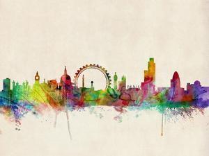 London Skyline by Michael Tompsett