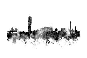 Malmo Sweden Skyline by Michael Tompsett