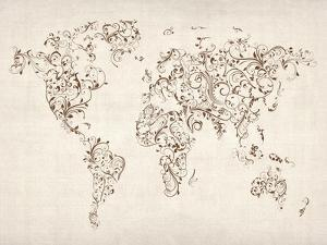 Affordable Maps Decorative Art Posters For Sale At AllPosterscom - Decorative maps for sale