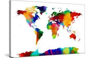 Map of the World Map by Michael Tompsett