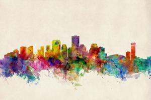 New Orleans Louisiana Skyline by Michael Tompsett