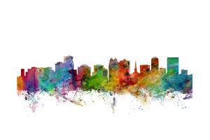 Orlando Florida Skyline by Michael Tompsett
