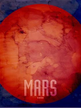 The Planet Mars by Michael Tompsett