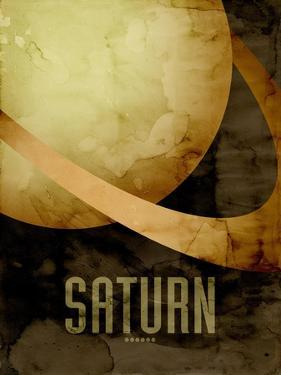 The Planet Saturn by Michael Tompsett