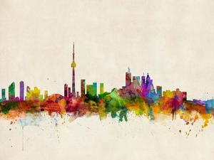 Toronto Skyline by Michael Tompsett