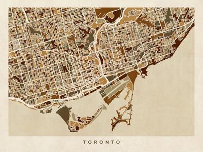 Toronto Street Map