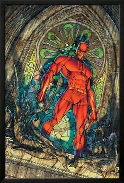 Daredevil No.100 Cover: Daredevil by Michael Turner