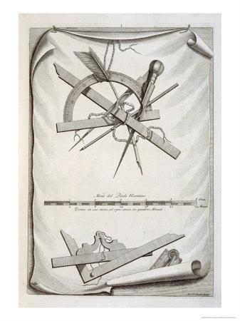 Architects' and Surveyors' Tools, a Trompe L'Oeuil