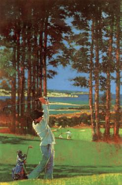 Golfer by Michael Vaughan