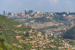 View over Kigali, Rwanda, Africa by Michael