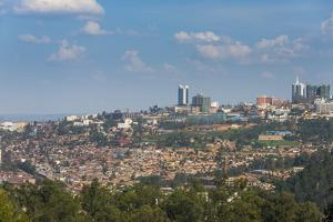 View over Kigali, Rwanda, Africa by Michael