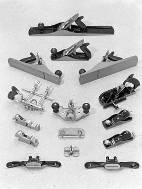 A Range of Stanley Hand Tools, Sheffield, South Yorkshire, 1966 by Michael Walters