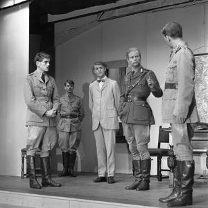 A Scene from the Terence Rattigan Play, Ross, Worksop College, Nottinghamshire, 1963 by Michael Walters