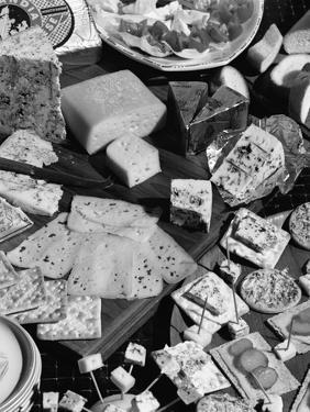 A Selection of Danish Cheeses, 1963 by Michael Walters