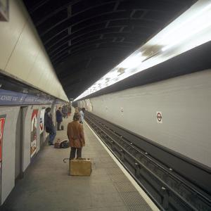 Blackhorse Road Tube Station on the Victoria Line, London, 1974 by Michael Walters