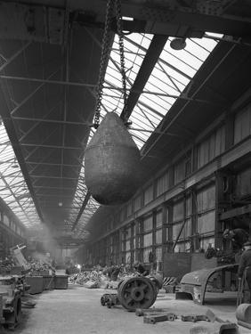 Edgar Allen Steel Foundry, Meadowhall, Sheffield, South Yorkshire, 1962 by Michael Walters
