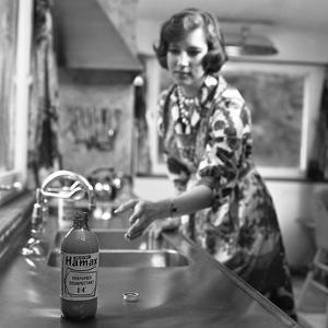 Hamax Disinfectant, Marketing Shot, 1963 by Michael Walters