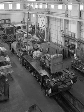 Locomotives Being Assembled at the Thomas Hill Factory, Kilnhurst, South Yorkshire, C1960S by Michael Walters