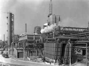 Manvers Coal Preparation Plant, Near Rotherham, South Yorkshire, 1956 by Michael Walters