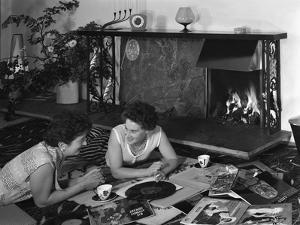Photograph Taken for a Baxi Fireplaces Advertisment, 1961 by Michael Walters