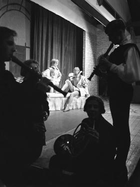 Production of Shakespeares Twelfth Night, Worksop College, Derbyshire, 1960 by Michael Walters