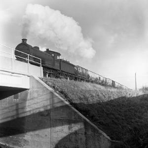 Steam Loco No 65794 Hauling Coal from Lynemouth Colliery, Northumberland, 1963 by Michael Walters