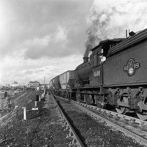 Steam Loco No 65811 Hauling Coal from Lynemouth Colliery, Northumberland, 1963 by Michael Walters