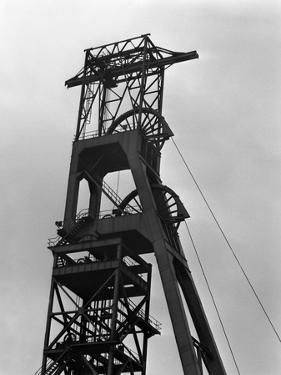 The Downcast Headgear at Clipstone Colliery, Nottinghamshire, 1963 by Michael Walters