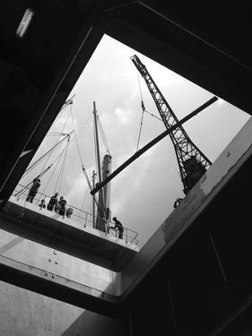 View from the Hold of the Manchester Renown, Manchester, 1964 by Michael Walters
