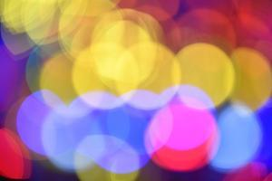 Bokeh Balls, Colored Lights by Michael Weber
