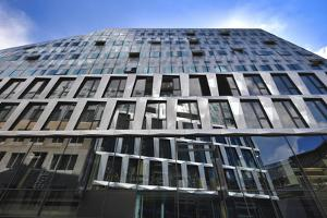 new Dortotheen Quartier DOQU of the architects Behnisch, Stuttgart, Baden-Wurttemberg, Germany by Michael Weber