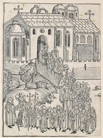 Christ Greeting a Pilgrim, C.1491