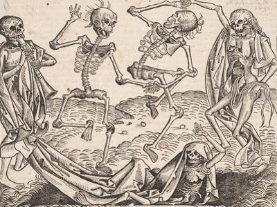 Dance of Death (From the Schedel's Chronicle of the Worl)