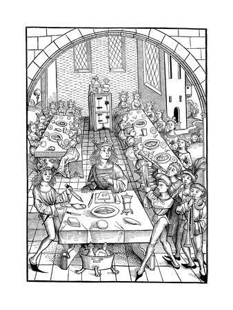 Illustration to the Book Schatzkammer, 1490-1491