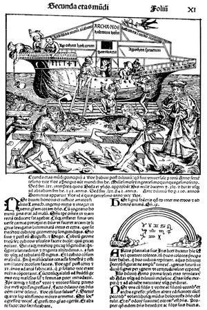 Page from the Book the Nuremberg Chronicle, 1493